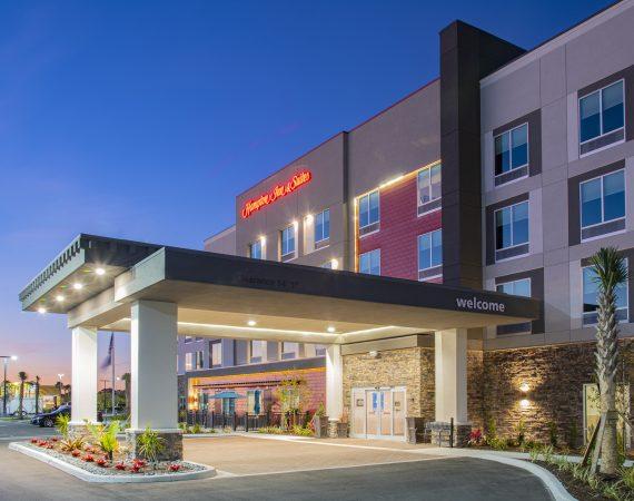 Project Completion - Hampton Inn & Suites
